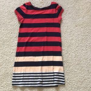 Multi colored kids tee shirt dress!
